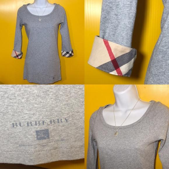 add6e78c 💗Women's BURBERRY BRIT Long-Sleeve Shirt Size S/P